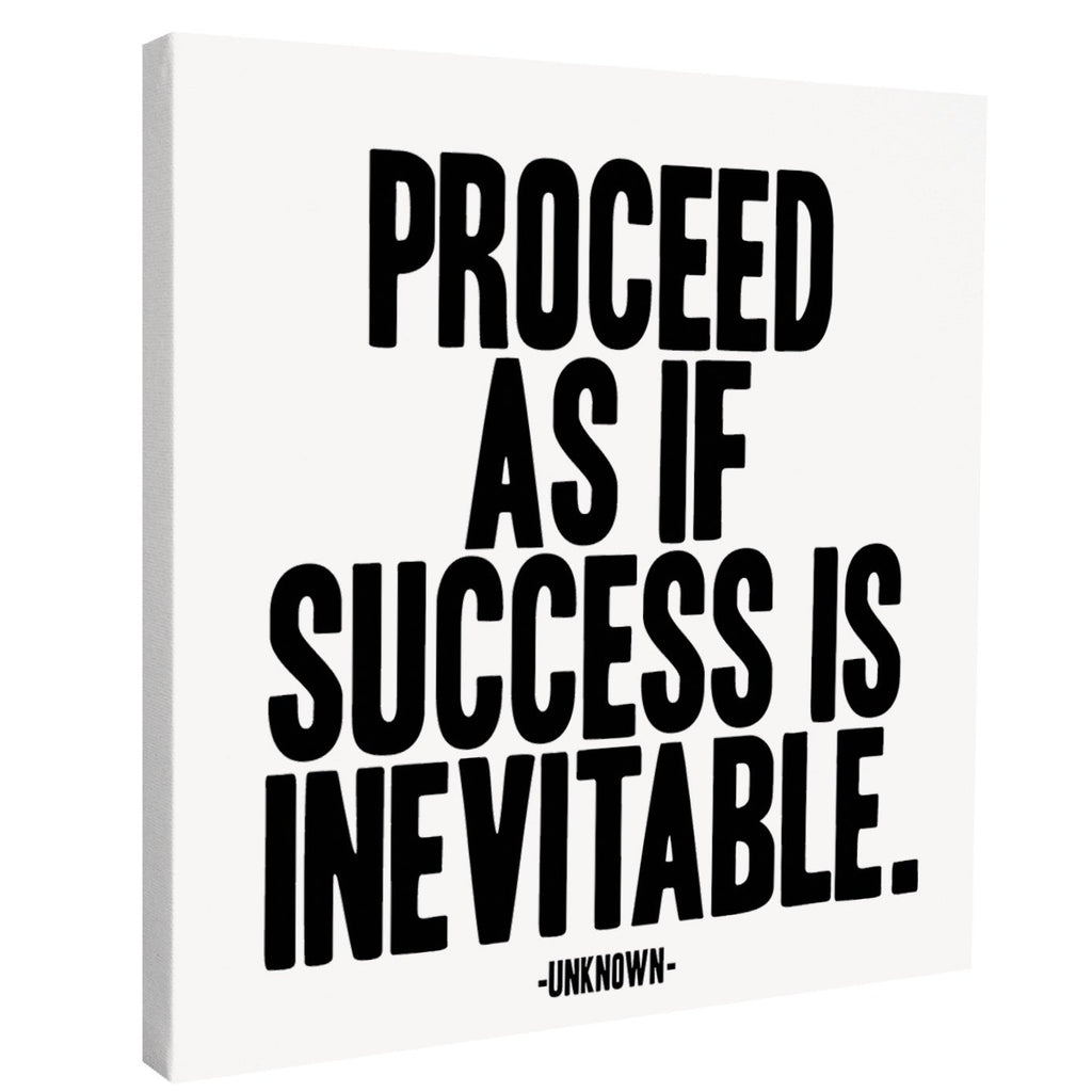 Canvas Print - Success