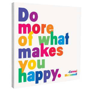 Canvas Print - Happy