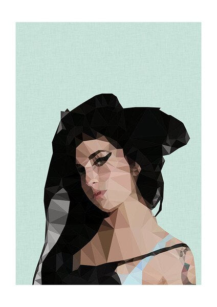 Amy Winehouse A3 Print