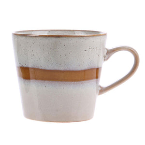 Ceramic 70s Mug with Stripe