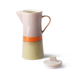 Ceramic 70s Coffee Pot
