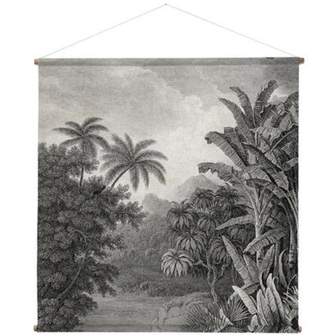 Jungle Print Hanging Canvas