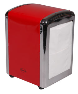 Napkin Dispenser in Red
