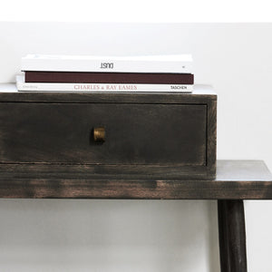Club Black Console Table