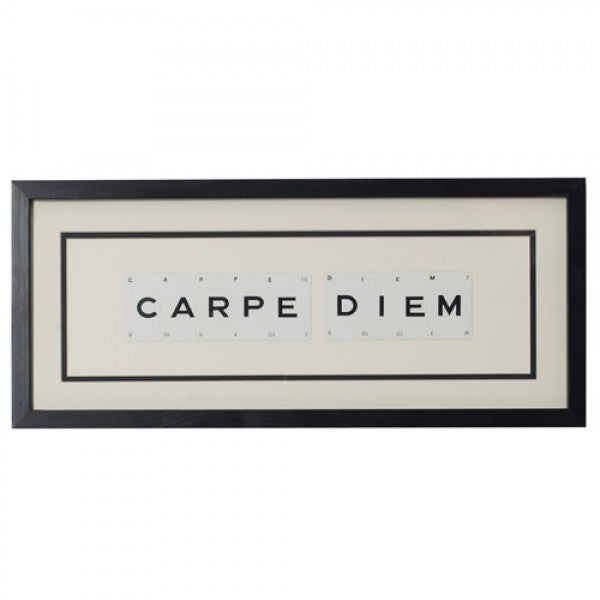 Carpe Diem Framed Artwork