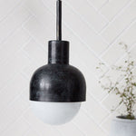 Black Glow Pendant Light