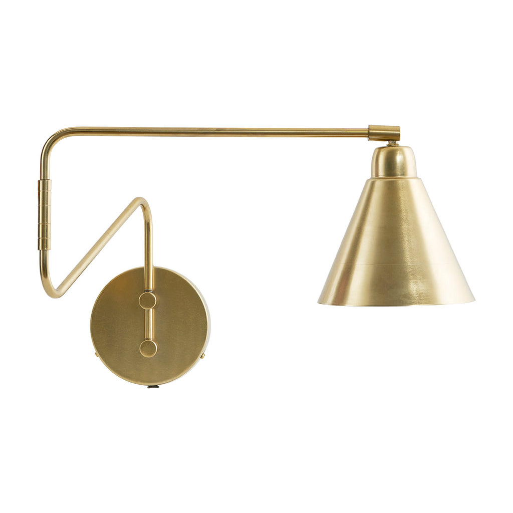 Long Brass Game Wall Light