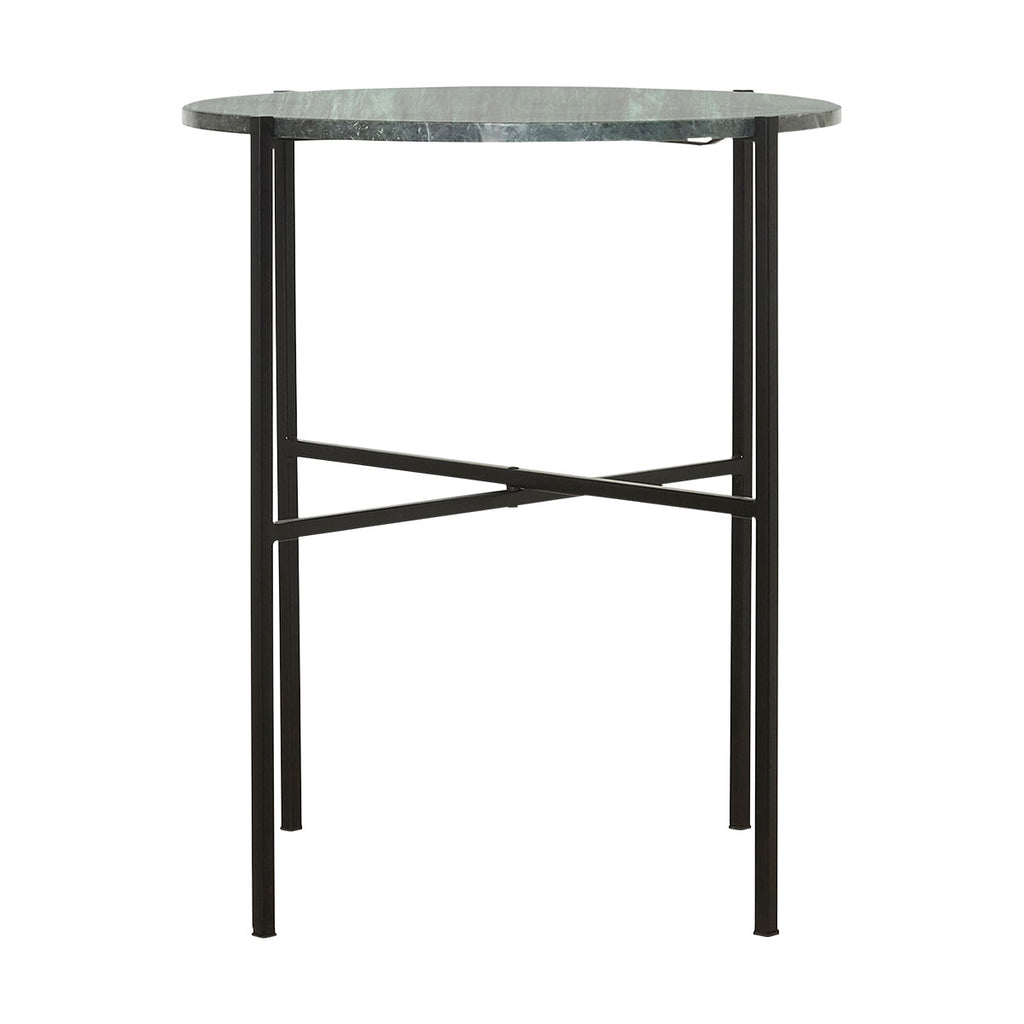 The Green Marble Side Table