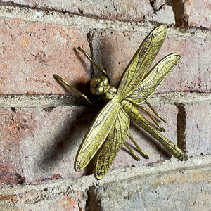Gold Dragonfly Wall Decor