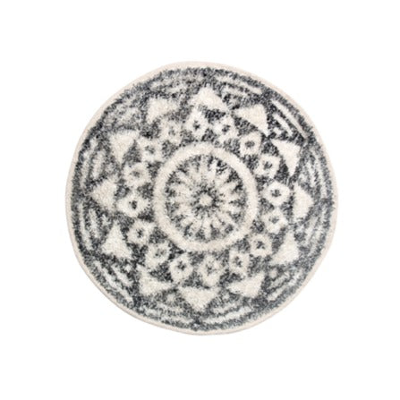 Round Patterned Mat