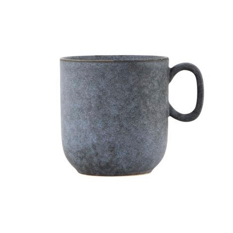 Grey Stone Mug By House Doctor DK