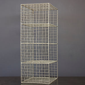 Iron 4 Tier Hanging Wire Shelf