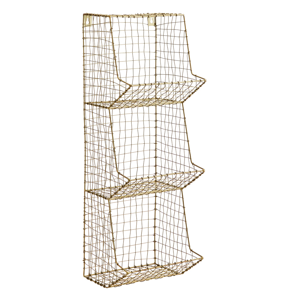 Wire Wall Rack - 3 Tier