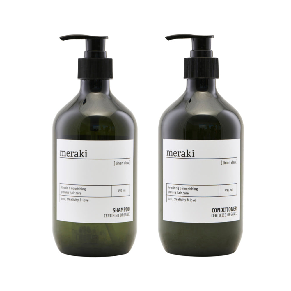 Linen Dew Shampoo and Conditioner Set