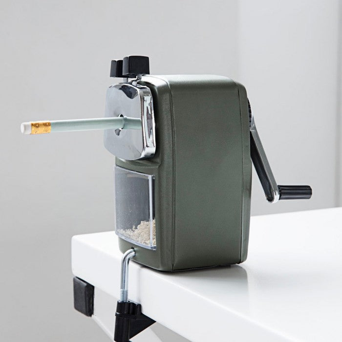 Desktop Pencil Sharpener Green