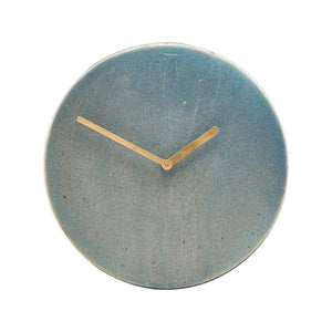 Grey Stone Wall Clock