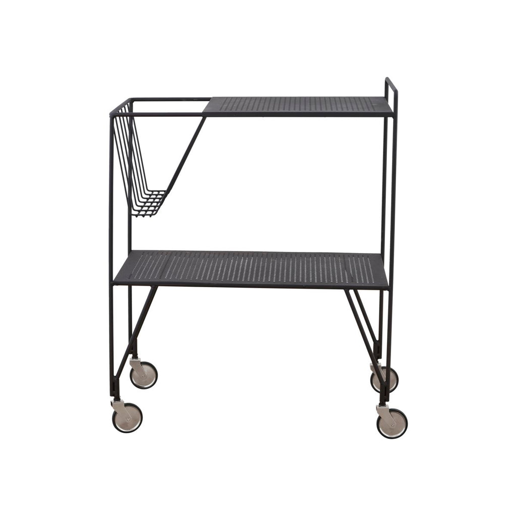 Black Steel Trolley