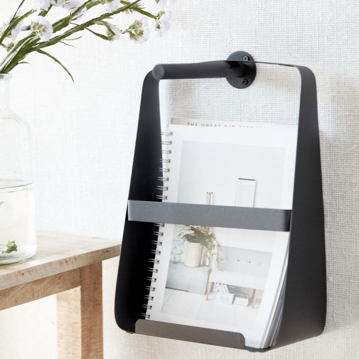 Black Brochure Holder