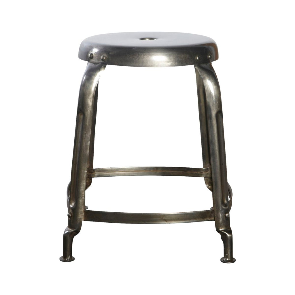 Gunmetal Steel Stool