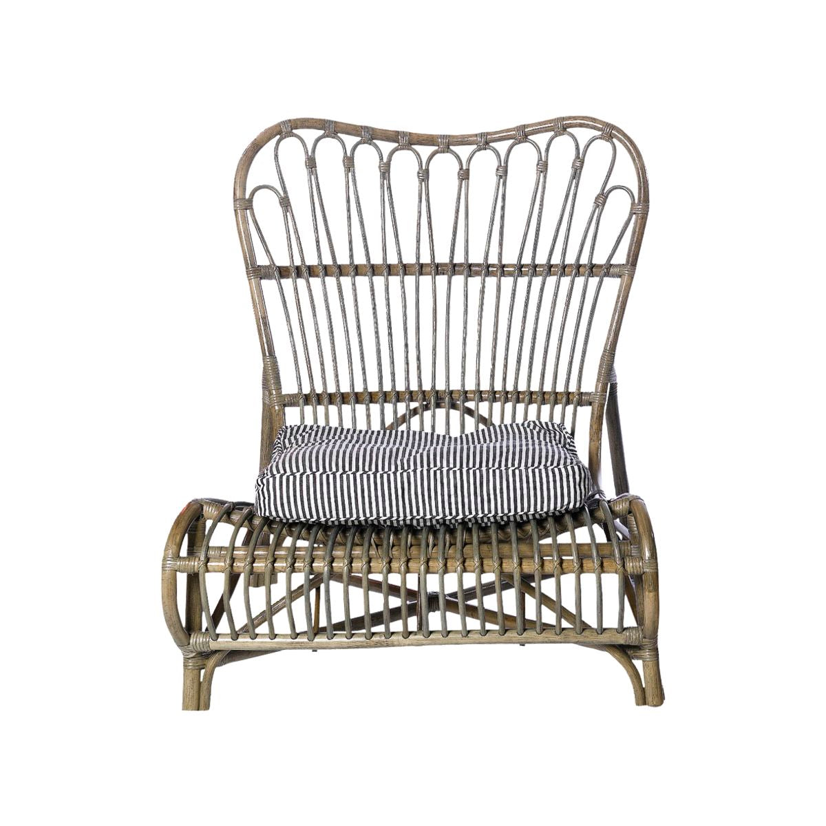 Rattan Lounge Chair - two colours