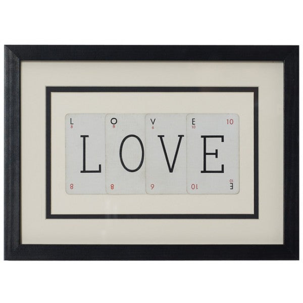 Love Framed Artwork