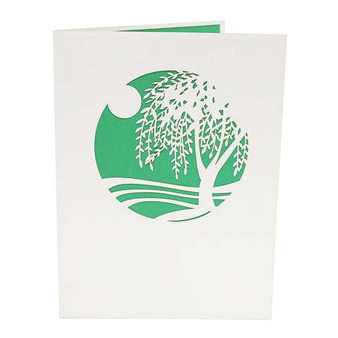 Willow Tree Pop Up Card