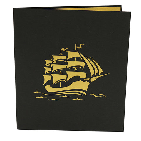 Sailing Ship Pop Up Card