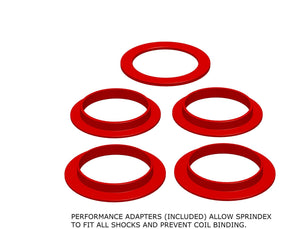 Sprindex Performance Adapters for MTB Coil Suspension Shocks