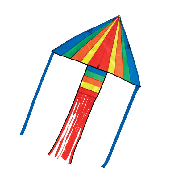 Rainbow Rocket Delta Kite