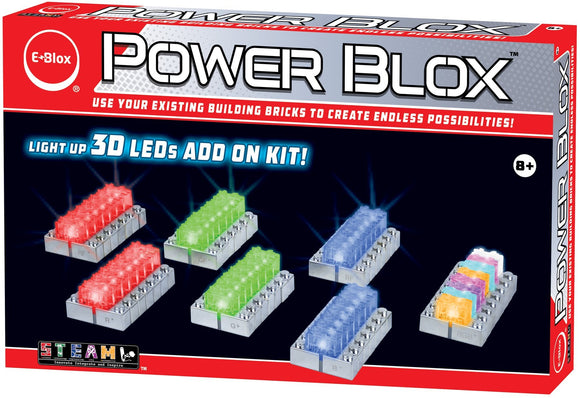 Power Blox LED ADD-ON Building Block Set - E-Blox