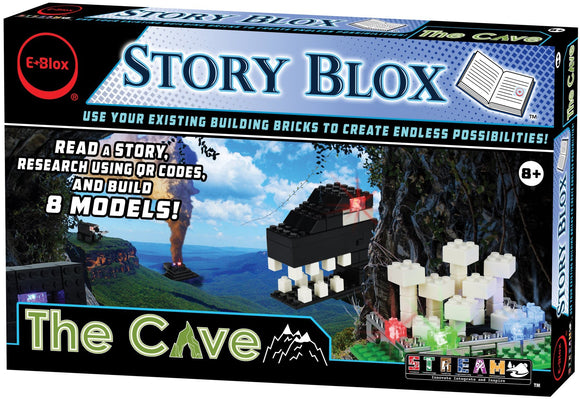 Story Blox - LED Building Blocks - The Cave