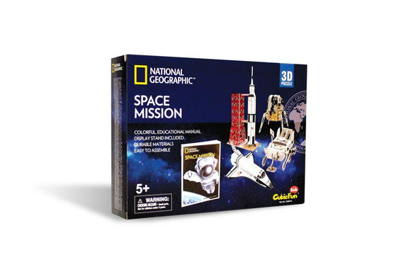 National Geographic Space Mission 3D Puzzle