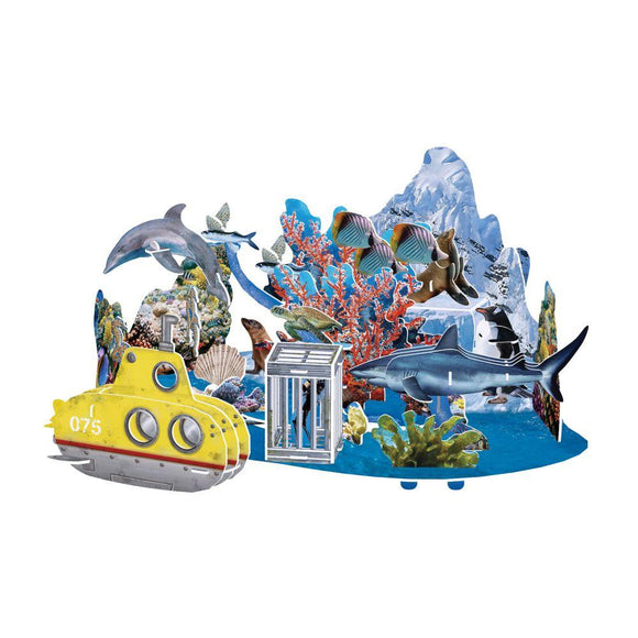 National Geographic Undersea Adventure 3D Puzzle