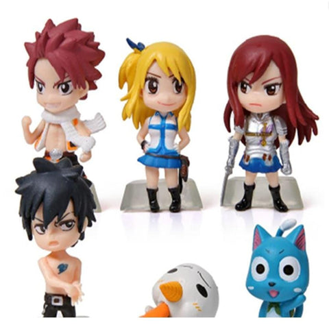 5MB 1 pcs Cartoon Fairy Tail Action Figures - MH