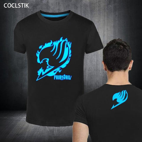 5MB 100% Cotton Anime Fairy Tail Tee - MH