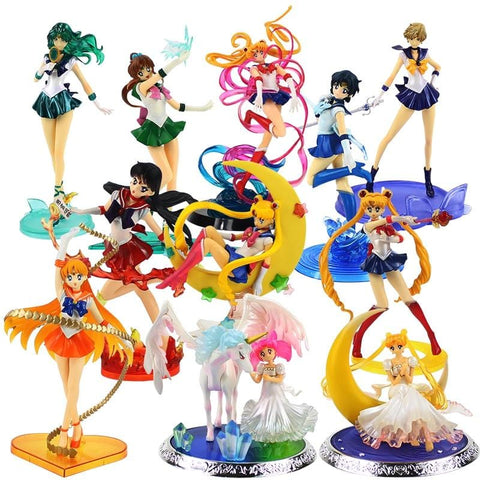Sailor Moon Characters Model
