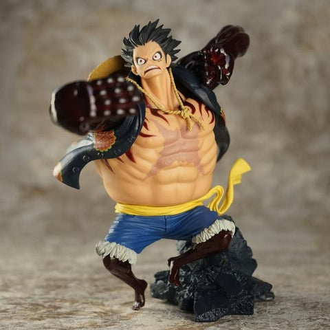 4MB 17cm One piece Gear fourth Monkey D Luffy Action Figure - MH