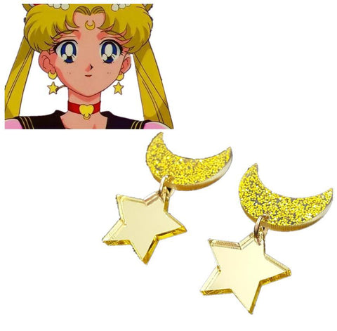 Sailor Moon Star Earrings - MH