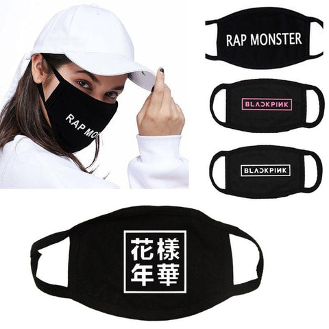 2MB TWICE Unisex  Half Face Mouth Mask - MH