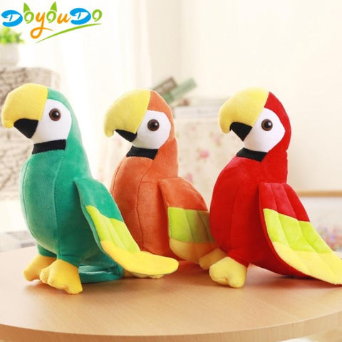 Parrot Plush Toy - MH