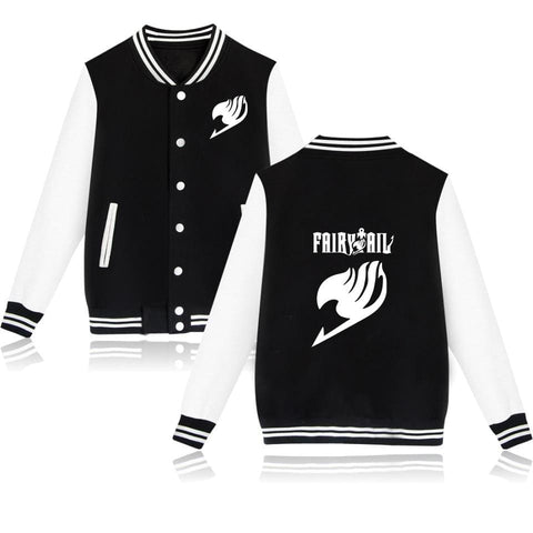 5MB Fairy Tail streetwear Baseball Jacket - MH