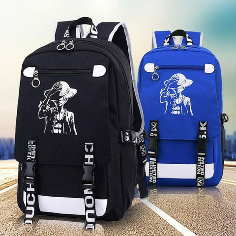 4MB Luffy One Piece Anime Backpacks - MH