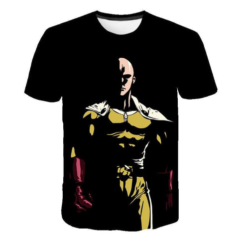 3MB 3D Print One Punch Man T-Shirt - MH