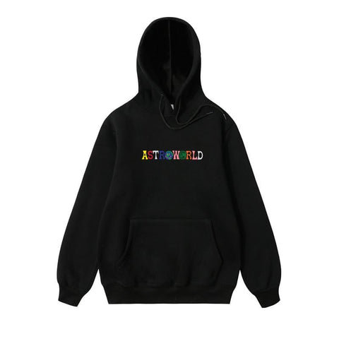 2019NEW Men hoodies Travis Scott Astroworld WISH YOU WERE HERE Sweatshirt Men fashion letter print Hoodie Men and woman Pullover - MH