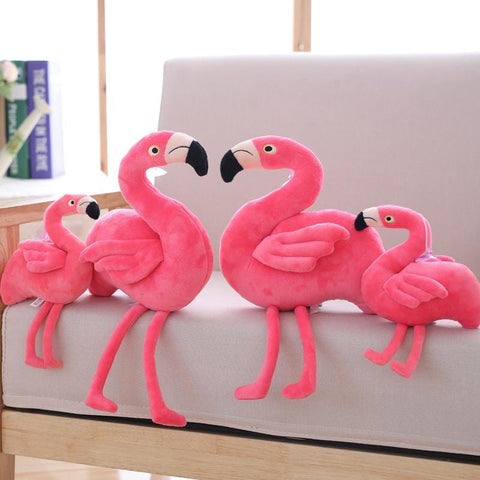 24/40cm Cute Pink Flamingo Plush Toys - MH