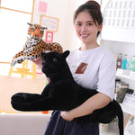Black Leopard Panther Stuffed Animal Plush Toys - MH