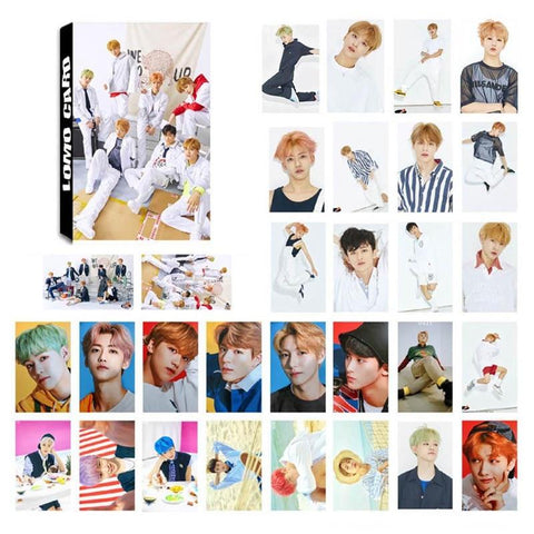 2MB 30Pcs/Set KPOP NCT Dream Photo Card Poster Lomo Cards - MH