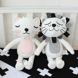 40cm Kawaii Plush Cat Lion Doll Toys For Children Room Decor Stuffed Plush Toys Kids Baby Appease Doll Christmas Gift - MH