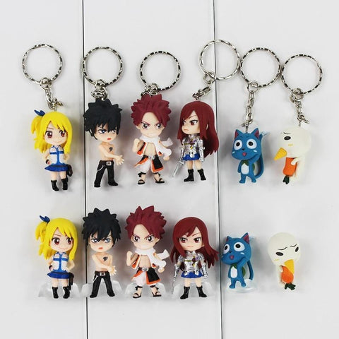 Fairy Tail Figures Mh We use our own factory made ones, 24 colors, skintone included. fairy tail figures mh
