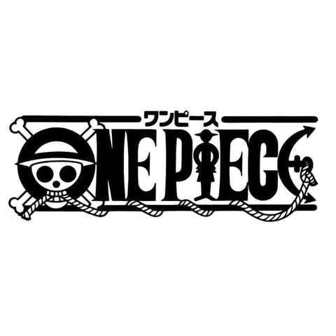 One Piece Logo Car Sticker - MH